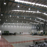 Strukturelles industrielles Fabrik-Stahlgebäude mit großem Platz