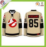 좋은 품질은 캐나다 팀 고정되는 아이스 하키 저어지 의 승화한 아이스 하키 셔츠를 주문 설계한다