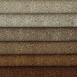 Sofa de textile de Polyestery de velours et tissu mous de teinture de literie