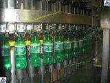 Botella de plástico de agua de soda carbonatada Máquina Tapadora de llenado de bebidas