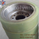 Rouleau poly polyuréthane poli d'uréthane
