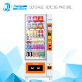 Bebida fría y bebidas Máquina expendedora automática con sistema de pago