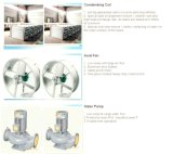 Hohe Leistungsfähigkeits-China-Verdampfungskondensator