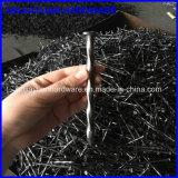 Spirale en zinc plaqué sur le fil pour la vente d'ongles