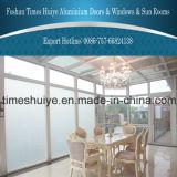 Wintergarden de alumínio com vidro Tempered e vidro laminado