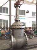 Klep de Uit gegoten staal van de Poort van GOST/DIN Pn16 Dn500 (Z41H-DN500-PN16)