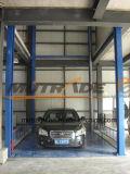 Elevación vertical de elevación auto de la plataforma del coche de elevador para el taller de reparaciones