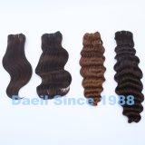 Tessuto riccio dei capelli di estensioni di Wefted dei capelli umani