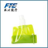 주문을 받아서 만들어진 다채로운 PE 스포츠 Foldable 또는 접을 수 있는 물병