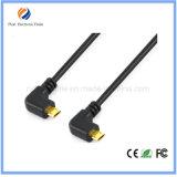 Câble d'extension USB / USB2.0 à angle droit de 90 degrés