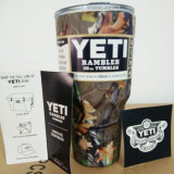 O Rambler colorido por atacado do Yeti de Camo 30oz da fábrica, vácuo isolou o copo colorido 30oz do Tumbler do Yeti