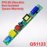 6-20W極めて薄い非絶縁T5/T8 LEDの管ライト電源QS1123