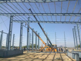 Prefabricated 가벼운 강철 구조물 고무 작업장 (KXD-SSW1105)