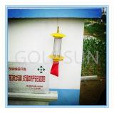 Lâmpada de assassino de insetos voadores alimentados por energia solar, Controle de pragas, Novo -Tech Green Pesticede