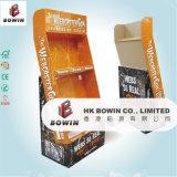 Рекламировать изготовленный на заказ напечатанную складывая индикацию бумаги шипучки картона стойки знамени