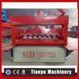 Rodillo de acero de la hoja de la azotea del hierro del metal del color que forma la máquina