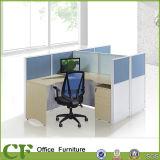 Partition modulaire de bureau de poste de travail d'Assemblée facile accessible