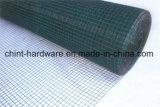 Engranzamento de fio soldado quadrado revestido PVC da fábrica