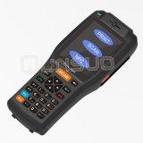 Radio portable androide programable del colector de datos con el explorador del código de barras