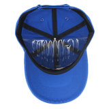 カスタム青く平らな刺繍6のパネルの昇進の野球帽
