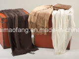 編まれた柔らかい洗濯できるアクリルの投球毛布