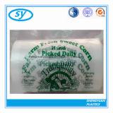 Freier Plastikverpacken- der Lebensmittelnahrungsmittelbeutel auf Rolle