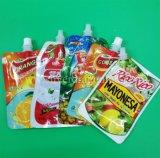 Support personnalisé jusqu'pochette de la goulotte pour les emballages alimentaires, boissons, de boire