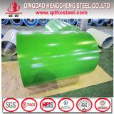 La bobine colorée de PPGI a enduit le prix d'une première couche de peinture en acier galvanisé de bobine