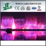 Lumière à LED et fontaine d'eau musicale de danse