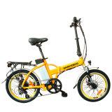 alliage d'Al de 20inch 250W pliant le vélo électrique