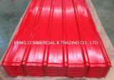 Al Gl, das Stahlblech von beschichtetem galvanisiertem gewölbtem Stahldach-Blatt China-PPGI Farbe Roofing ist