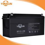 batteria al piombo solare di 12V 150ah per il sistema di PV del comitato solare