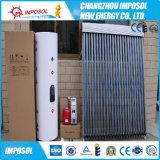Riscaldatore di acqua solare pressurizzato spaccatura del collettore solare