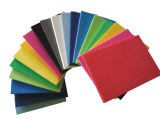 カラーまたは白いPVCシートおよびPVC泡のボード