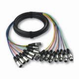 XLR Stage Cable Cabo Snake Cabo Multicore Link (JFA1)