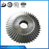 Transmisión del OEM/rueda helicoidal/espiral/engranaje del cerco cónico Forging/trabajando a máquina