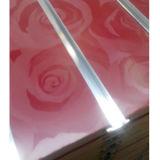 Slwatwall täfelt Panel MDF-Slatwall mit Aluminium