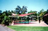 Vela dello schermo per il campo da giuoco esterno del giardino della piscina