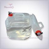 15L / 18L20L approuvé par la FDA Outdoor Camping Eco-friendly PE / PVC récipient à eau pliable