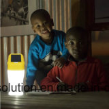 Портативный солнечный фонарик освещая 8 часов