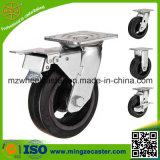 ブレーキ産業ゴム製足車の車輪