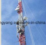 De gegalvaniseerde Toren van Guyed van de Staaf van het Staal voor Telecommunicatie
