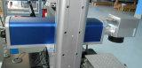 Máquina de aluminio de la marca de la fibra del código 20W de Qr