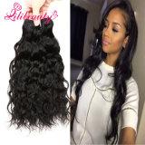 Extensão natural do cabelo humano de Remy da onda do Weave do cabelo do Cambodian de 100%
