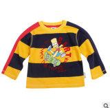 Le nouveau Printemps/Été 2014 Les garçons à manchon long col rond Stripe T-Shirt Fashion