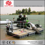 de Diesel van 350mm Pomp die van het Water in Myanmar Mijnbouw werken