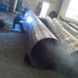 Galvanisés à chaud poteau d'acier électrique