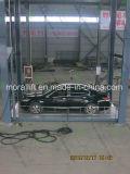 Auto-Aufzug des Pfosten-4 übermitteln zwischen Fußböden