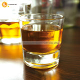 Vetro bevente del whisky rotondo su ordinazione del regalo di modo della fabbrica della Cina
