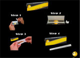 Papel de balanceo del cigarrillo de la talla regular del OEM con extremidades de filtro
